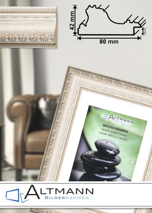 antik bilderrahmen gogh wei barockrahmen bilderrahmen. Black Bedroom Furniture Sets. Home Design Ideas