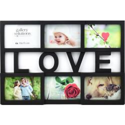 Collage-Rahmen Love 10 schwarz
