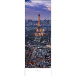 "Nielsen Gerahmtes Bild ""Paris at Evening"" 52,0 x 150,0 cm"