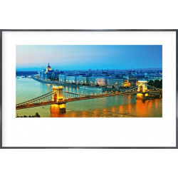 "Nielsen Gerahmtes Bild ""Budapest"" 90,0 x 60,0 cm"