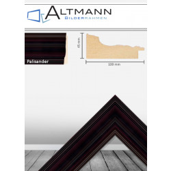 Holzbilderrahmen Palisander 100