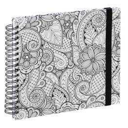 """Spiral-Buch """"Colorare"""" 28x24/50 Ranken"""