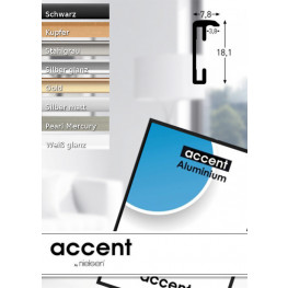 Wechselrahmen Accent Alu