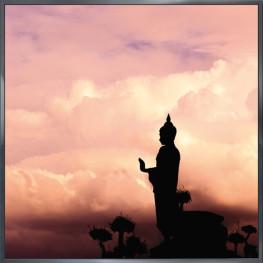 "Nielsen Gerahmtes Bild ""Buddha"" 30,0 x 30,0 cm"