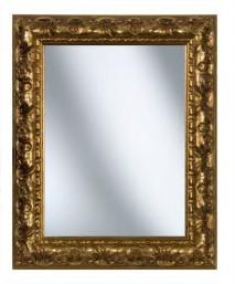 Spiegelrahmen aus Holz in Barock